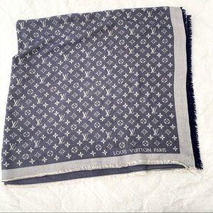 Louis Vuitton Etole monogram - shawl denim